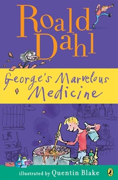 (二手書)George's Marvellous Medicine