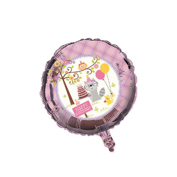 18吋鋁箔氣球(不含氣)-森林唱遊