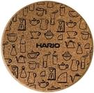 金時代書香咖啡 HARIO 原創圓形軟木墊 CMT-M