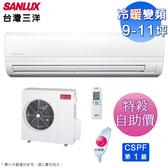 (自助價)台灣三洋9-11坪一級變頻冷暖分離式冷氣 SAC-63VH7+SAE-63VH7