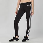 Adidas Essentials Stripes Tights 女子 黑白 訓練 緊身褲 DP2389