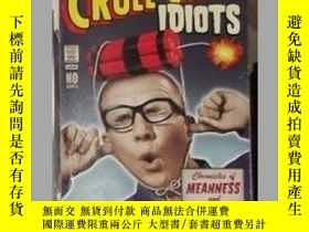 二手書博民逛書店英文原版罕見Cruel and Unusual Idiots b