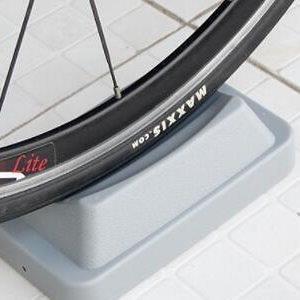 ♥巨安網購♥【ML106082411】山地自行車騎行台室內訓練台前輪固定架前輪墊配件