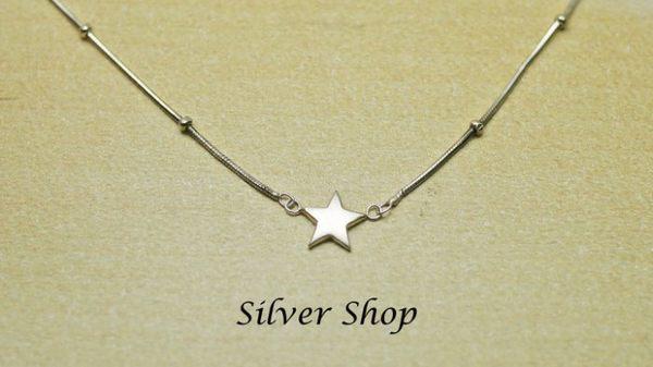 ╭☆ Silver shop ☆╯純銀 S925 套鍊 [ snn 020 ]