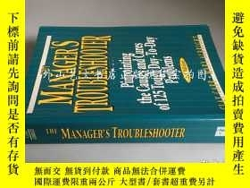 二手書博民逛書店The罕見Manager s Troubleshooter: P