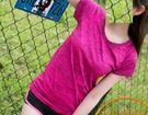 夏季運動短袖 玄色跑步瑜伽健身透氣吸汗速乾T恤(五色/三碼可選)