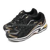 Asics 休閒鞋 Gel-Preleus 男鞋 變形蟲 黑 金 復古老爹鞋 AT【ACS】 1201A084001