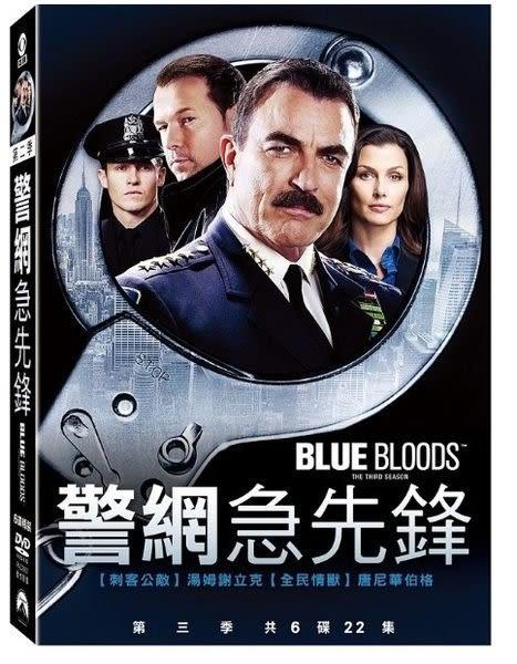 警網急先鋒 第3季 DVD 歐美影集 (購潮8)