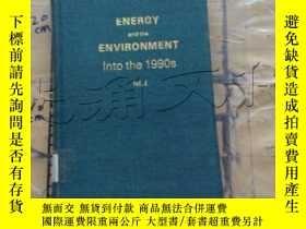 二手書博民逛書店Energy罕見and the Environment: Int