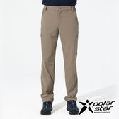 PolarStar 男 四向彈性抗UV長褲『卡其』P18351 戶外│露營│釣魚│休閒褲│釣魚褲│登山褲│耐磨褲