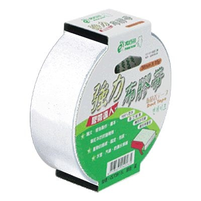 【奇奇文具】北極熊CLT3615W白色布紋膠帶36mm×15yds