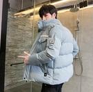 時尚外套加厚男生外套 潮流男士外套 羽絨外套韓版外套 時尚青年棉服男士棉衣 羽絨服夾克外套