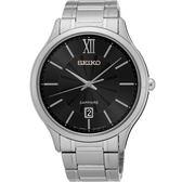 SEIKO 精工 城市簡約美學時尚手錶-黑/42mm 7N42-0GG0D(SGEH53P1)
