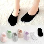 船襪女襪子女淺口韓國可愛夏季薄款純棉硅膠防滑黑色夏天隱形短襪