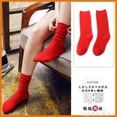 襪子南極人女中筒襪秋冬韓版學院風堆堆襪韓國棉長筒百搭潮ZJ 品生活旗艦店