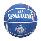 SPALDING NBA隊徽-76人 #7籃球(室外 7號球 運動 斯伯丁≡體院≡ SPA84149