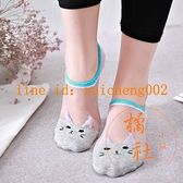 8雙裝 襪子女短襪夏季薄淺口短筒船襪蕾絲水晶襪防滑【橘社小鎮】