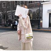 小方包 可愛搞怪斜背包包女包新款2019夏季卡通韓版潮休閒鍊條單肩小方包 名創家居館