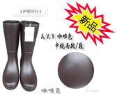 日本製--A.V.V 中筒雨靴--基本款/百搭/咖啡色/中統雨靴/雨鞋/NO.4037(4057)