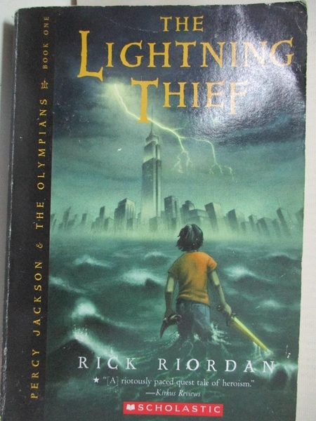 【書寶二手書T1/原文小說_BU7】The Lightning Thief (Percy Jackson and the Olympians, Book1)