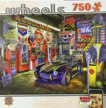 [KANGA GAMES]拼圖 Wheels - Jewel of the Garage 750片