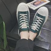 夏季透氣鞋港風ins帆布鞋男韓版潮流休閒布鞋子男ulzzang板鞋百搭 晴天時尚館