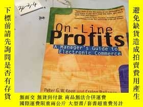 二手書博民逛書店英文原版書罕見On- Profits: A Manager s