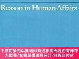 二手書博民逛書店Reason罕見In Human AffairsY464532 Herbert A. Simon Stanfo