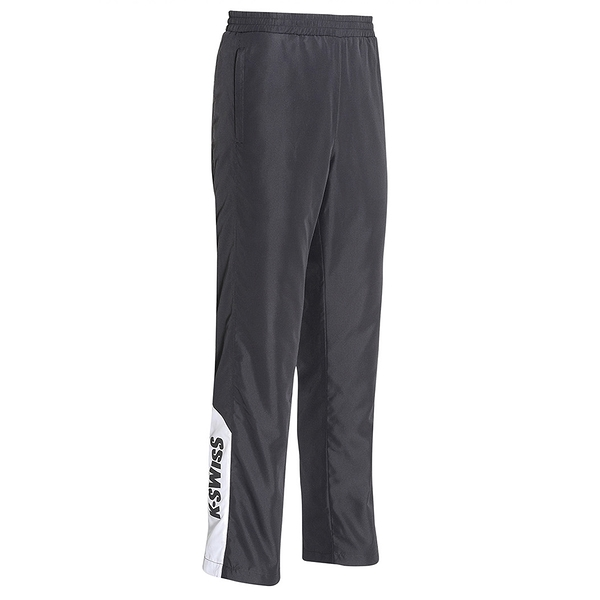K-SWISS Panel Track Pants 防風長褲女款 194649008 黑