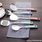 廚房用具用品鍋鏟漏勺湯勺炒勺家用304不銹鋼廚具炒菜鏟子勺子艾美時尚衣櫥igo艾美時尚衣櫥igo