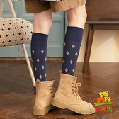 3雙裝 長筒襪高腰襪子女秋季潮中筒襪小腿襪復古 樂淘淘