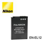 郵寄免運費$199 3C LiFe NIKON 尼康 EN-EL12 電池 ENEL12 鋰電池 Keymission360 170 A900 AW130 適用