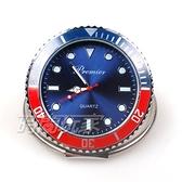 繽紛色彩 造型迷你小桌鐘 創意桌面小時鐘 個性時刻 擺飾 P1142紅藍