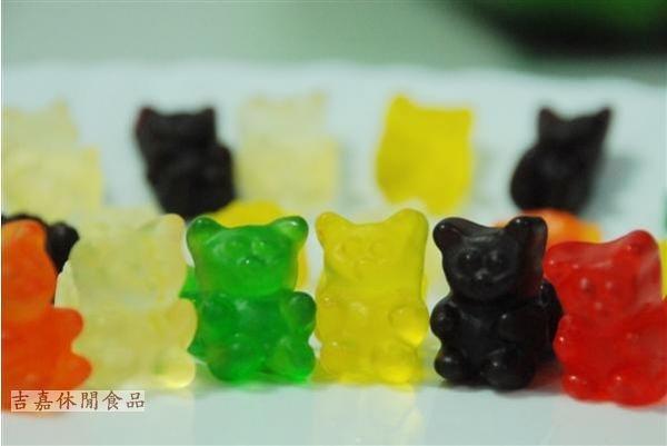 【吉嘉食品】泰迪熊造型 小熊QQ糖 400公克 [#400]{RU28}