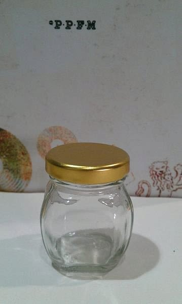 60cc 小香瓜玻璃罐 果醬瓶 醬菜瓶 六角瓶 辣椒瓶 XO醬瓶 玻璃瓶 蜂蜜瓶 干貝醬瓶T004