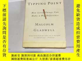 二手書博民逛書店英文原版:引爆點The罕見Tipping Point:How L