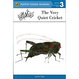 【麥克書店】ERIC CARLE經典繪本讀本版》THE VERY QUIET CRICKET /L3