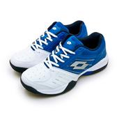 LIKA夢 LOTTO 全地形網球鞋 T-TOUR 600 白藍 6806 男