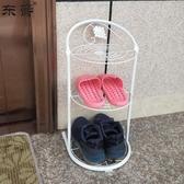東爵鞋架簡易家用省空間簡約迷你兒童小鞋架陽臺門口多層鞋收納架