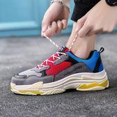 板鞋 春季男鞋韓版潮流運動鞋社會精神小伙老爹快手紅人同款潮鞋