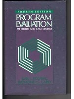 二手書博民逛書店《Program Evaluation: Methods and