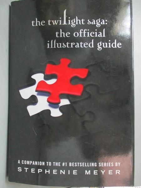【書寶二手書T3/一般小說_KRH】The Twilight Saga: The Official Guide_Meye