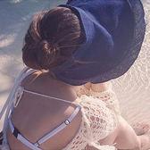 草帽 素色 空頂 防曬 遮陽 沙灘 鴨舌帽【NC017】 icoca  04/27
