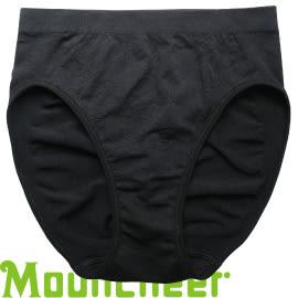 【Mountneer 山林 女 銀纖無縫內褲 黑色】11K86/內褲/運動★滿額送