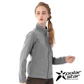 【PolarStar】女 內刷毛保暖外套『灰色』P20206 上衣 休閒 戶外 登山 冬季 保暖 禦寒 保暖