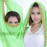 肚皮舞頭紗頭巾印度舞蹈服裝演出頭飾紗巾