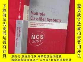 二手書博民逛書店Multiple罕見Classifier Systems: Se