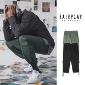 【GT】FairPlay Chambers 黑橄欖綠 長褲 直筒 抽繩 美牌 寬褲 工作褲 束口褲 多口袋 大口袋 抗撕裂布