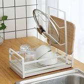 放碗碟架瀝水架廚房盤子杯子餐具碗筷收納架瀝水籃晾碗架鍋蓋架 NMS名購新品