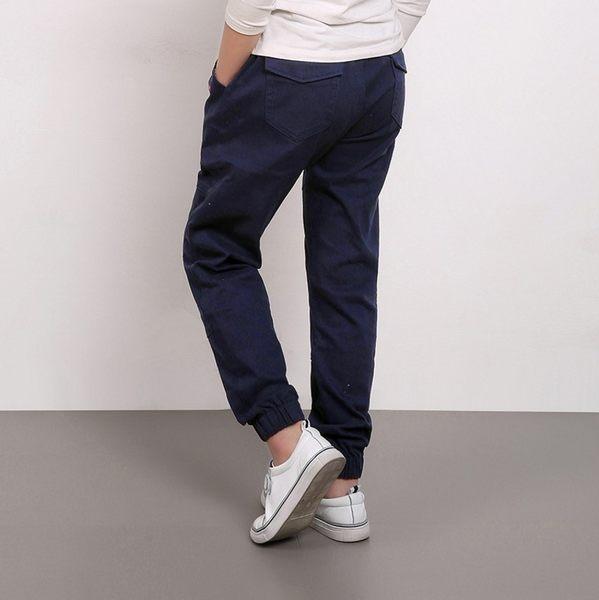 衣童趣♥韓版男童 時尚縮褲管 百搭長褲 休閒款長褲